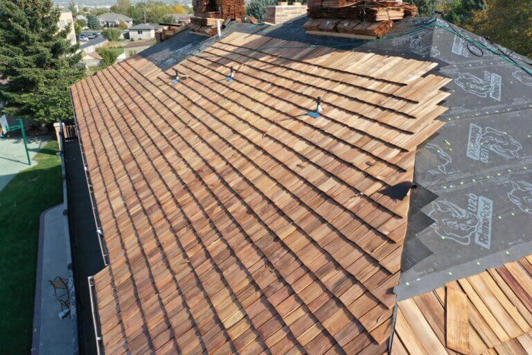 Cedar Shake Roofing Experts in Salt Lake City Utah